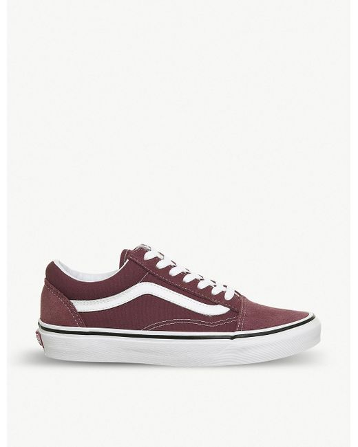 Vans Men's Old Skool Suede And Canvas Trainers