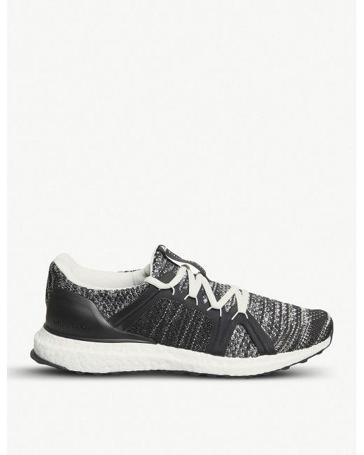 adidas Men's Black Stella Mccartney Ultraboost X Primeknit Trainers