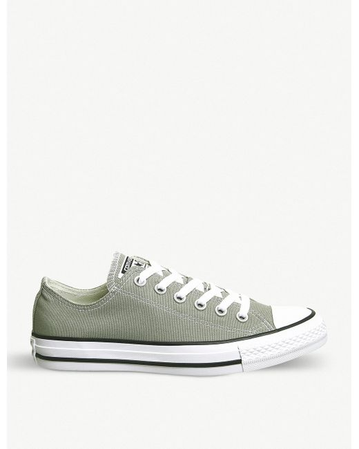 Converse Men's White All Star Low-top Trainers