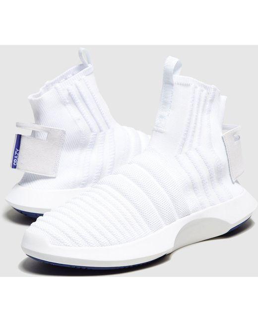adidas Originals Men's Blue Crazy 1 Sock Adv Primeknit
