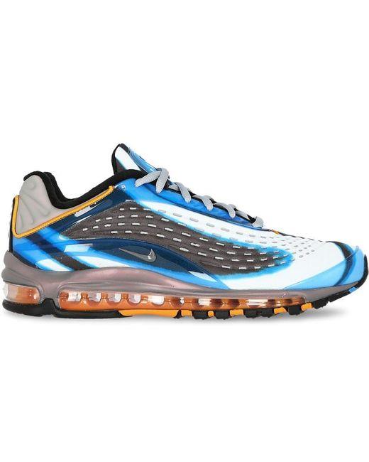 Nike Men's Blue Air Max Deluxe