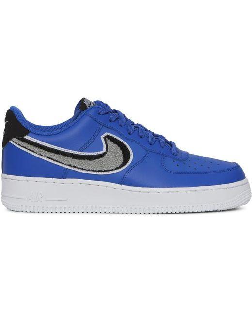 Nike Men's Black Air Force 1 '07 Lv8 Sneakers