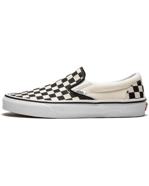 Vans Men's White Classic Slip-on