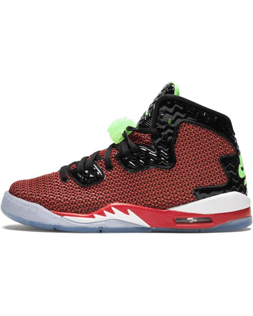 Nike Men's Red Air Spike Forty