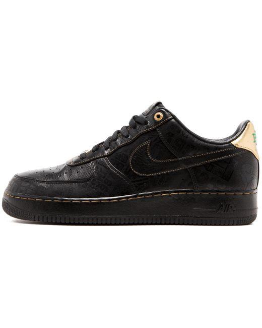Nike Men's Black Air Force 1 Hi Bhm Qs