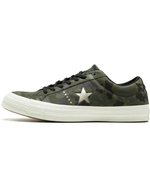 Converse Men's Green One Star Pro Ox