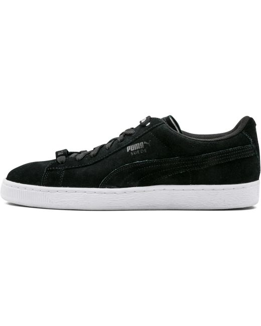 PUMA Men's Black X Trapstar Clyde Perforated