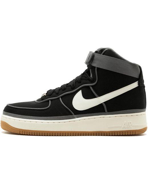 Nike Men's Black Air Force 1 High Lux 04