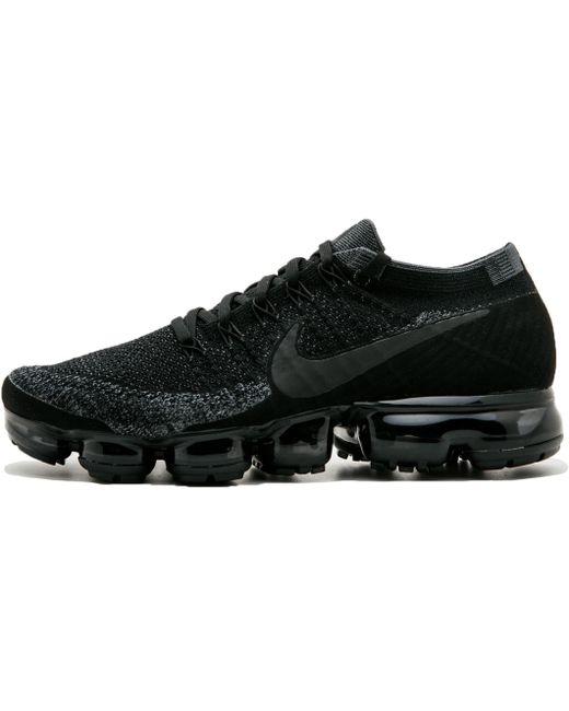 Nike Men's Black Air Vapormax Flyknit