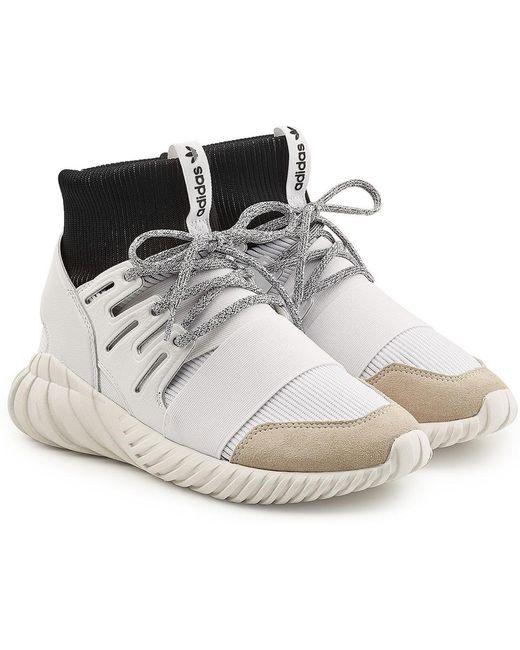 adidas Originals Men's Tubular Doom Sneakers With Suede