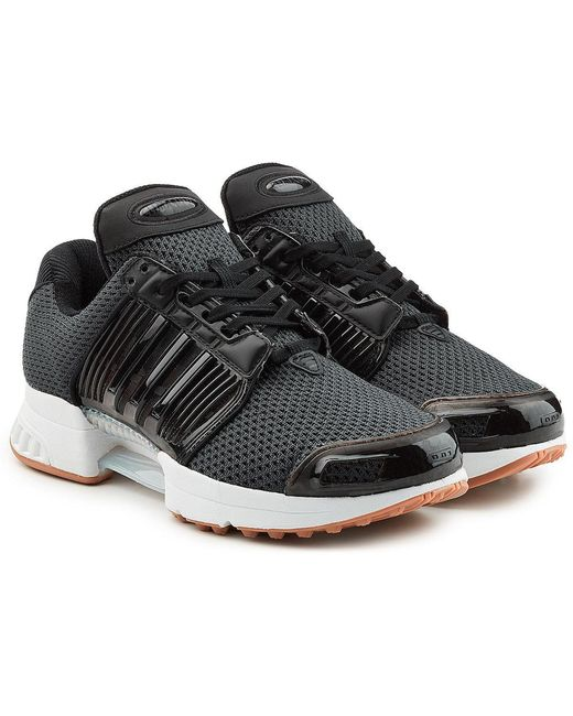 adidas Originals Men's Black Climacool 02/17 Sneakers With Mesh