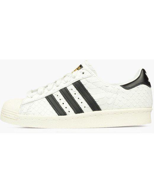 adidas Originals Men's White Superstar 80s Pk