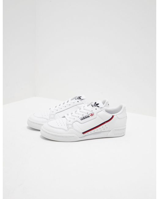 adidas Originals Mens Continental 80 White