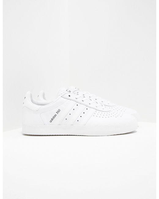 adidas Originals Mens La Trainer Leather White