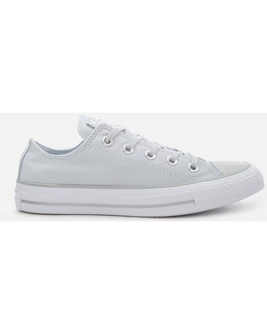 Converse Men's Gray Chuck Taylor All Star Ox Trainers