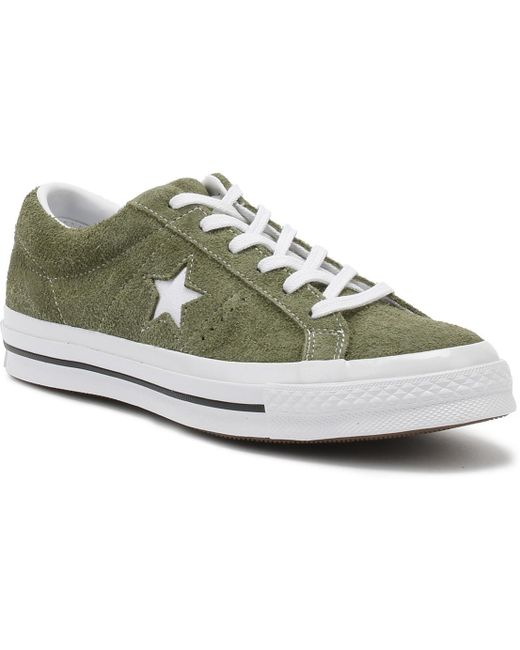Converse Men's Field Supplus/white One Star Ox Suede Trainers