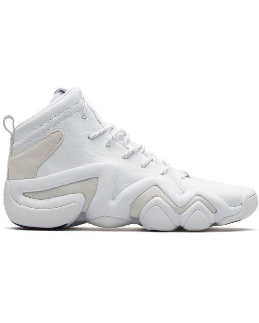 adidas Originals Men's White Crazy 1 Adv Sock Pk (asw)
