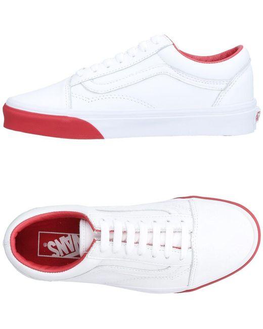 Vans Men's White Low-tops & Sneakers