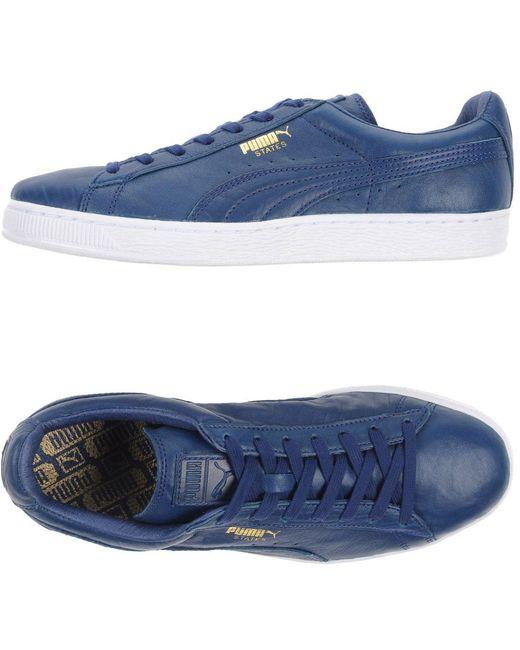PUMA Men's Purple Low-tops & Sneakers
