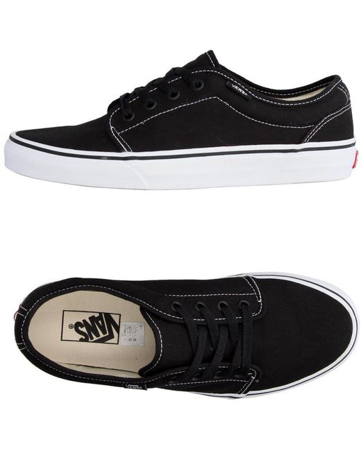 Vans Men's Black Low-tops & Sneakers