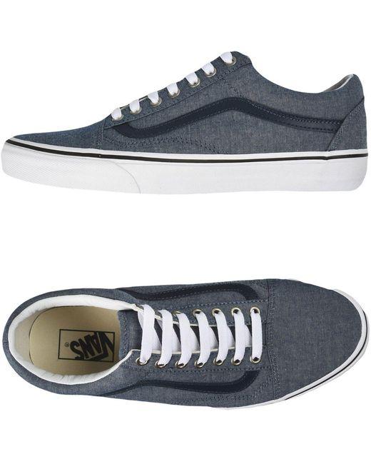 Vans Men's Blue Low-tops & Sneakers