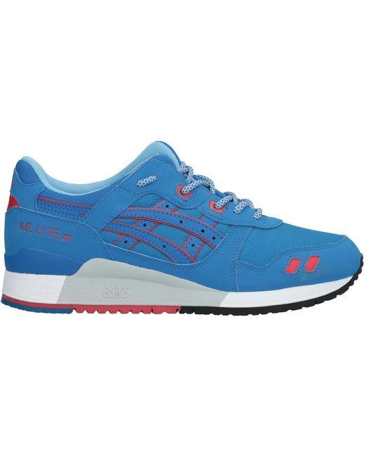 Asics Men's Blue Low-tops & Sneakers