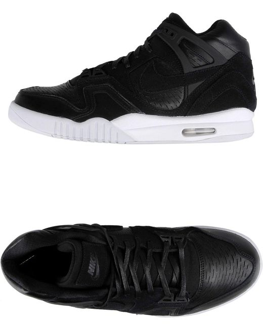 Nike Men's Black High-tops & Sneakers