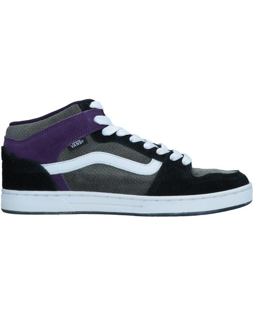 Vans Men's Blue High-tops & Sneakers