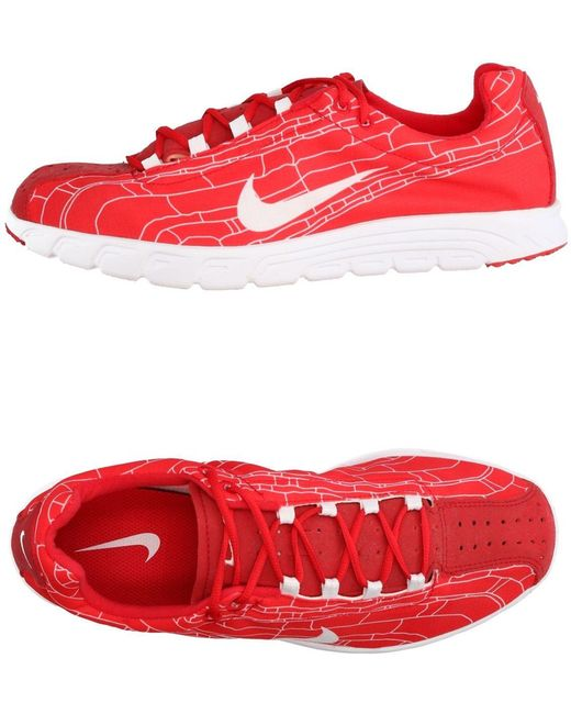 Nike Men's Red Low-tops & Sneakers