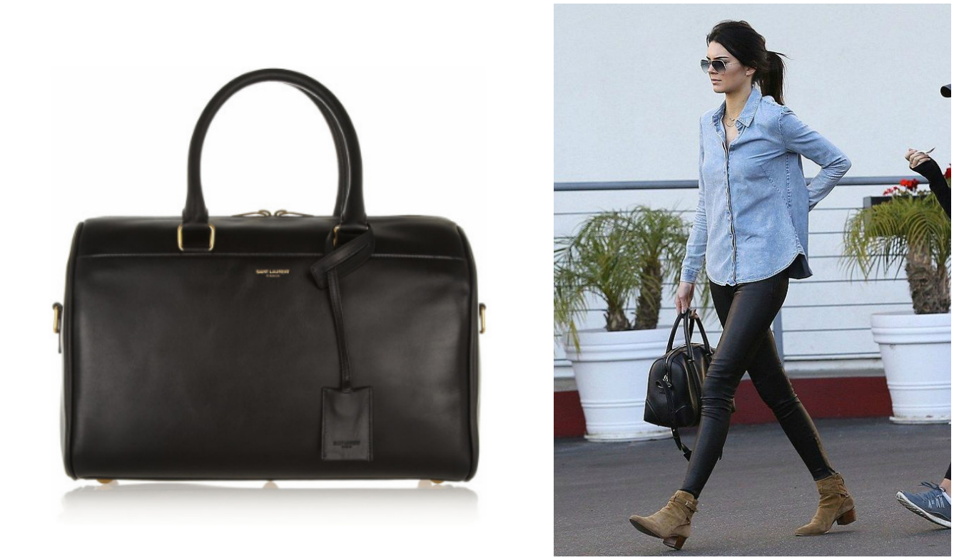 Kendall Jenner Loves Duffle Bags