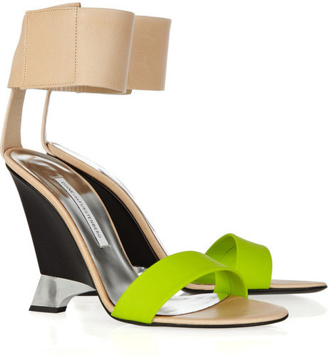 Shoe of the moment: Elan wedges by Diane von Furstenberg