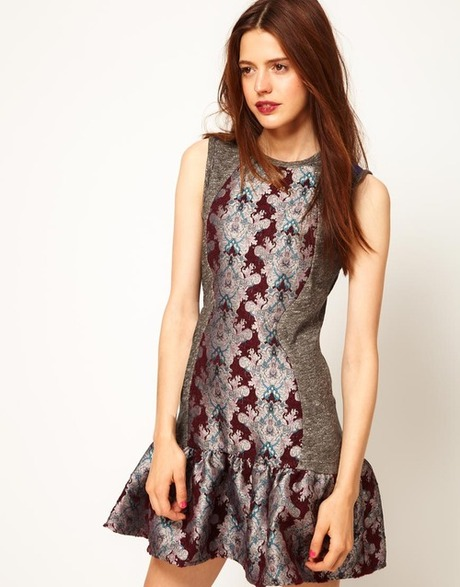 theclotheshorse:  all the brocade dresses