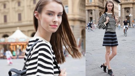 Straight lines - WhoWhatWear's FIRENZE 4EVER Style Lab