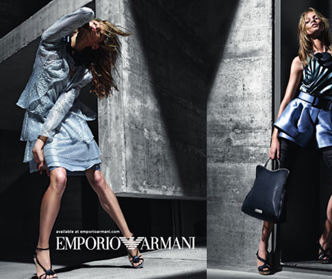 One of seven [Armani][1] sub-labels, Emporio Armani is a ready-to-wear and accessories brand inspired by current trends and contemporary sensibilities.