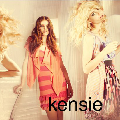 With an innate ability to appeal to the young and the beautiful, Kensie designs fresh, contemporary clothes for directional teens and twenty-somethings with catwalk-inspired inflections and a subtle undertone of uber cool street style.