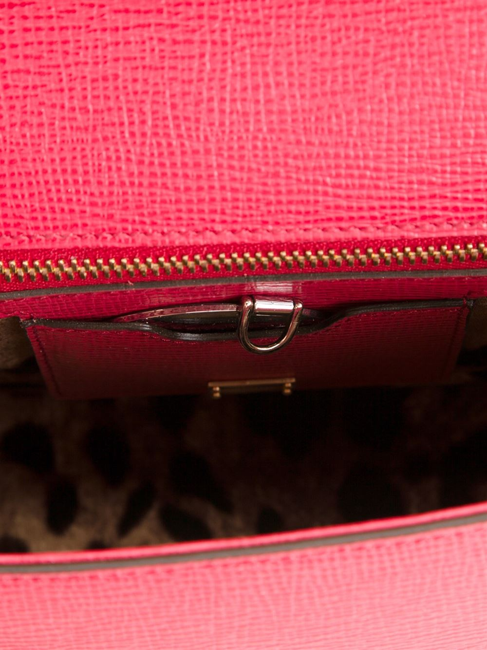 Dolce & Gabbana Small Sicily Tote in Red
