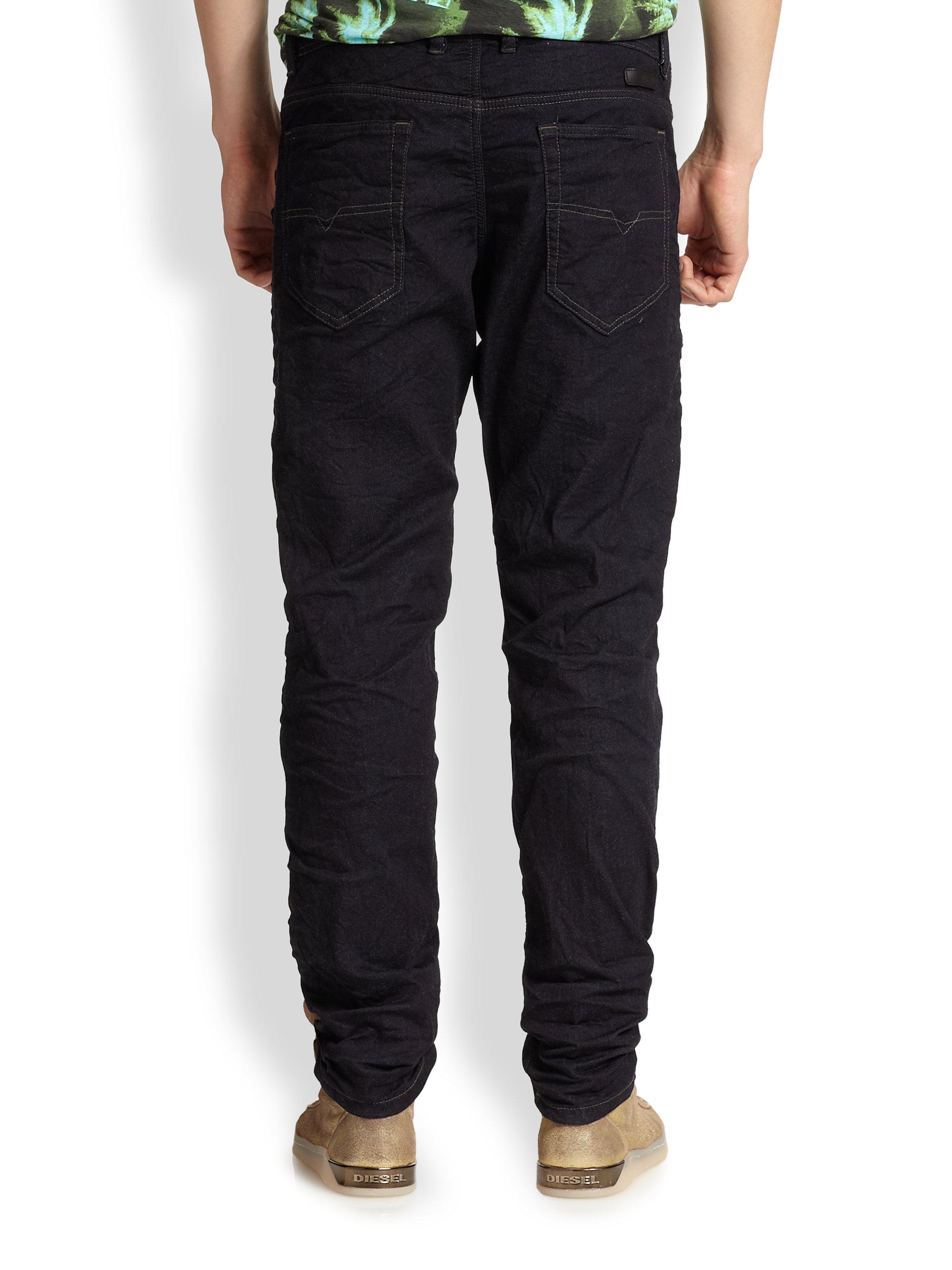 lyst diesel narrot jogg jeans in blue for men. Black Bedroom Furniture Sets. Home Design Ideas