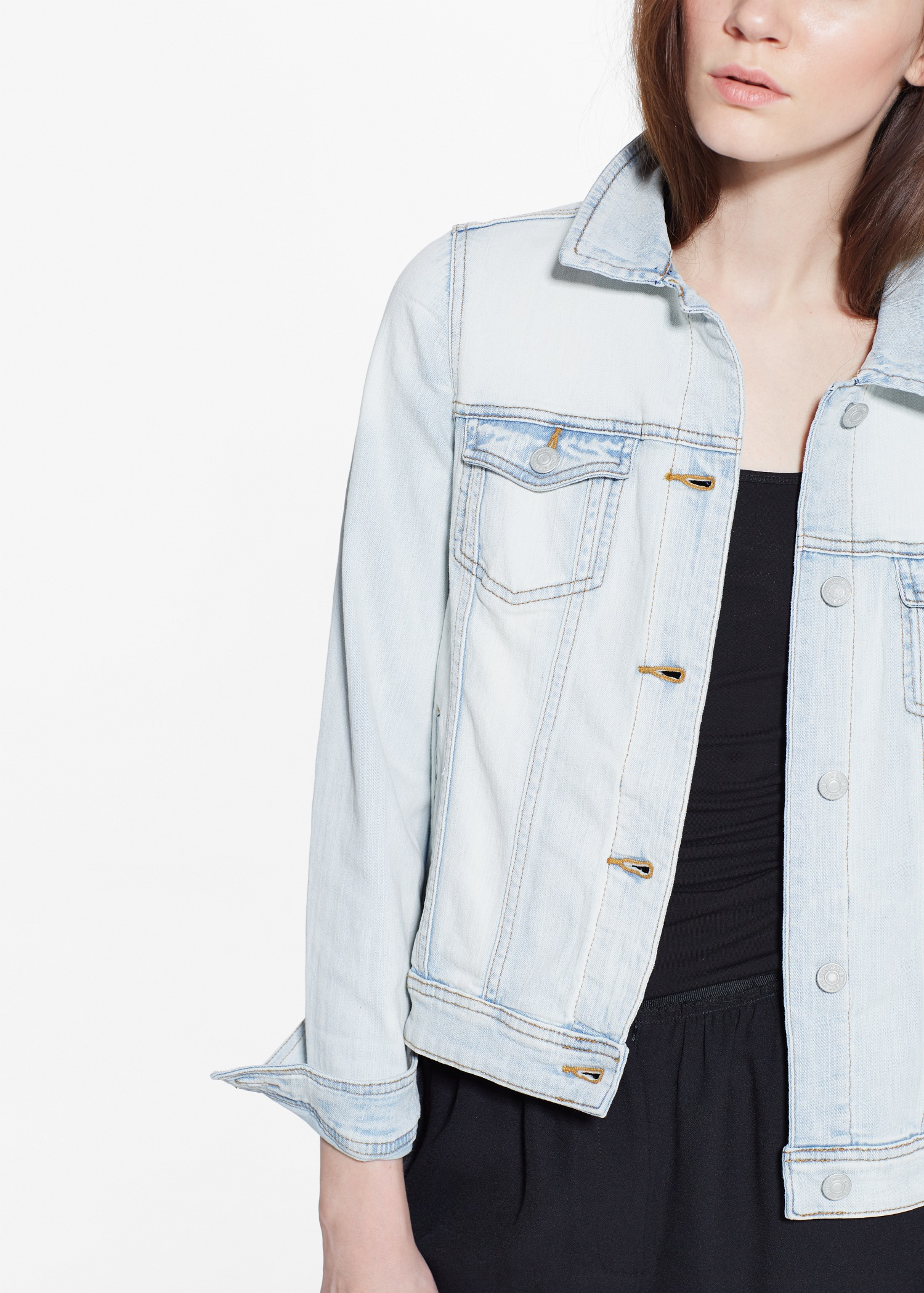 exceptional denim jacket hoodie outfit 9