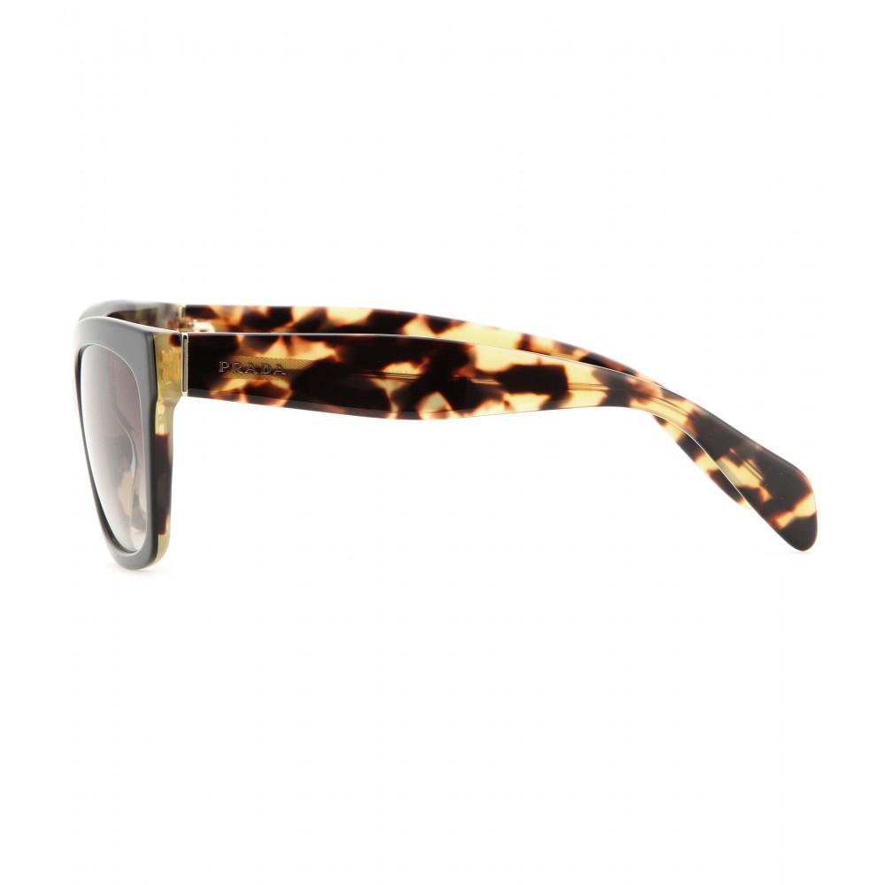 5aed10554bc Prada Pr08os Oversized Square Frame Sunglasses Black