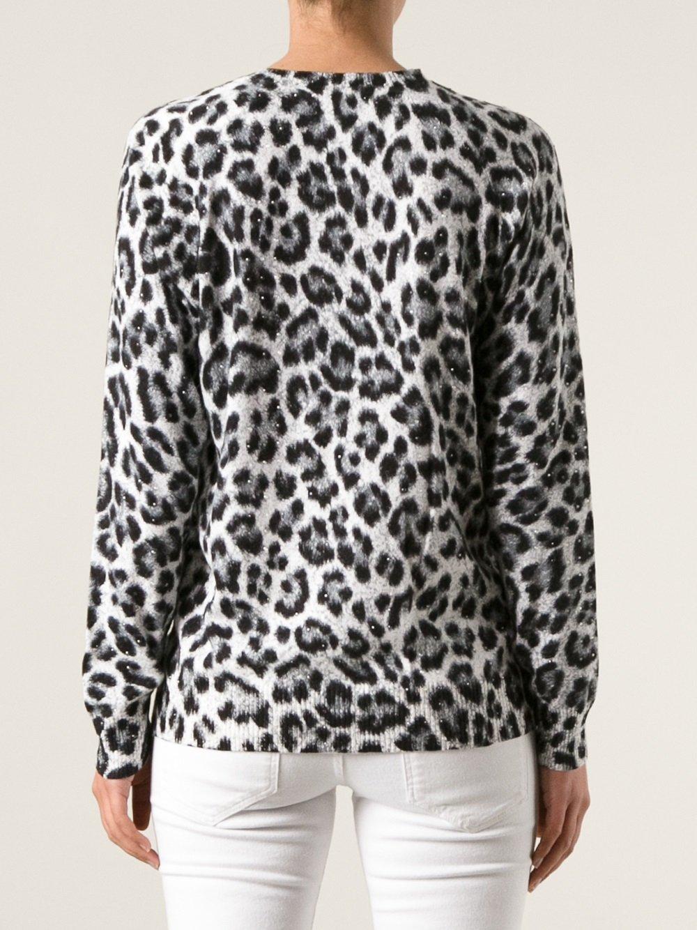 76492e2af02f2d Black Leopard Print Sweater - Best Picture HD Leopard In The World