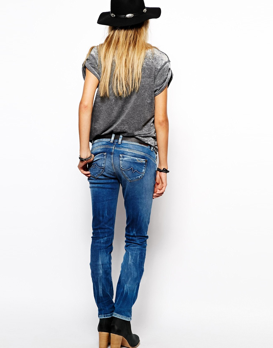 Black Straight Leg Jeans Women