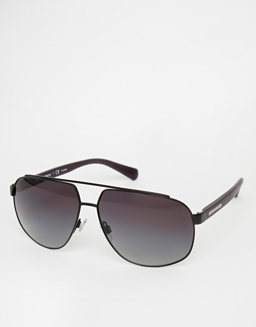 4e839fb1dc036 Dolce   gabbana Wayfarer Sunglasses in Black for Men