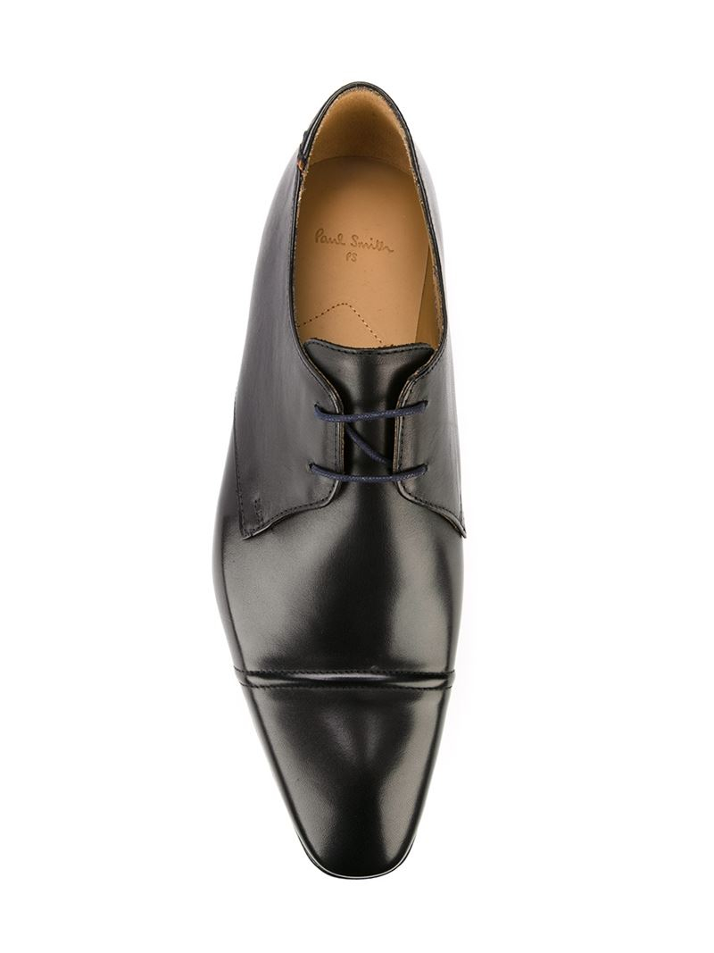 paul smith lace up shoes in black for lyst