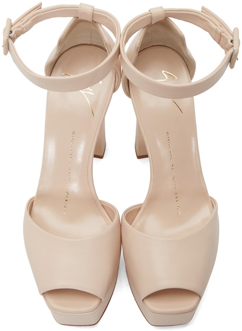 7d6c61b84fb6 Lyst - Giuseppe Zanotti Pink Lavinia Platform Sandals in Pink