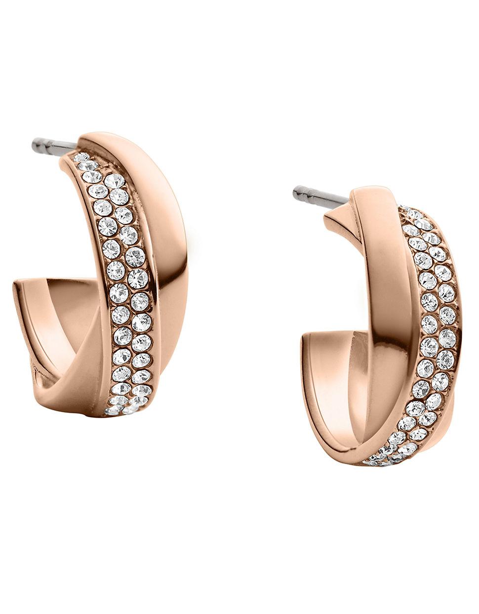 michael kors rose gold earrings gallery jewelry design. Black Bedroom Furniture Sets. Home Design Ideas