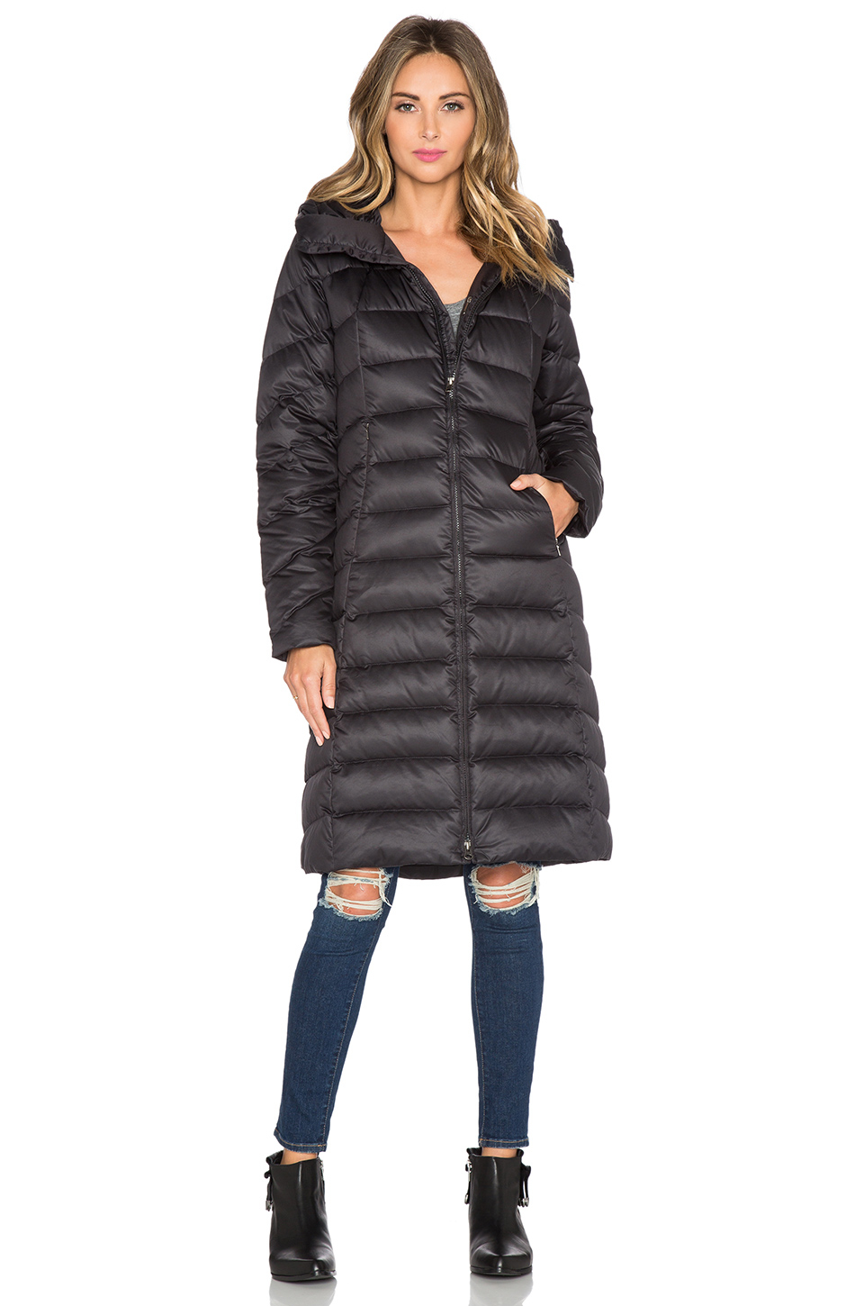 Lyst Patagonia Downtown Loft Parka In Black