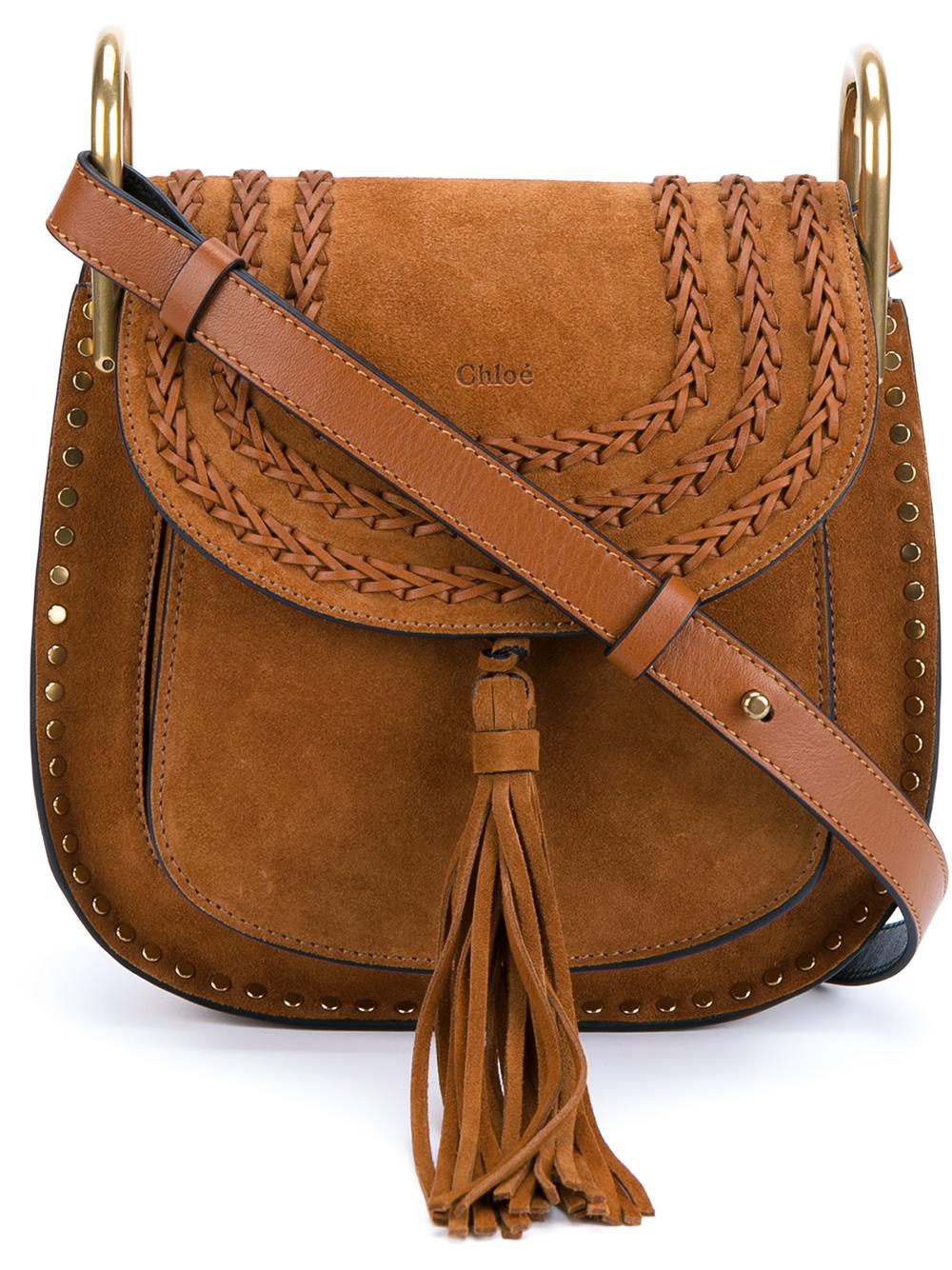 a5ee3f67c6 Chloé Brown Small 'hudson' Crossbody Bag