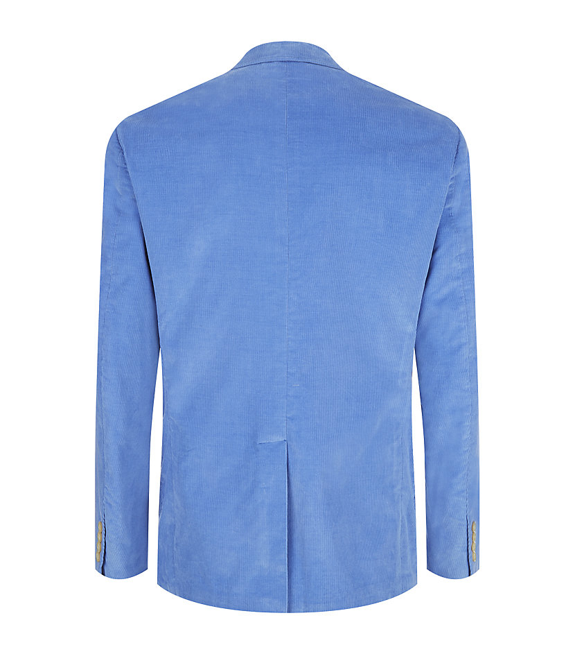 Lyst polo ralph lauren yale sport coat in blue for men for Polo shirt with sport coat