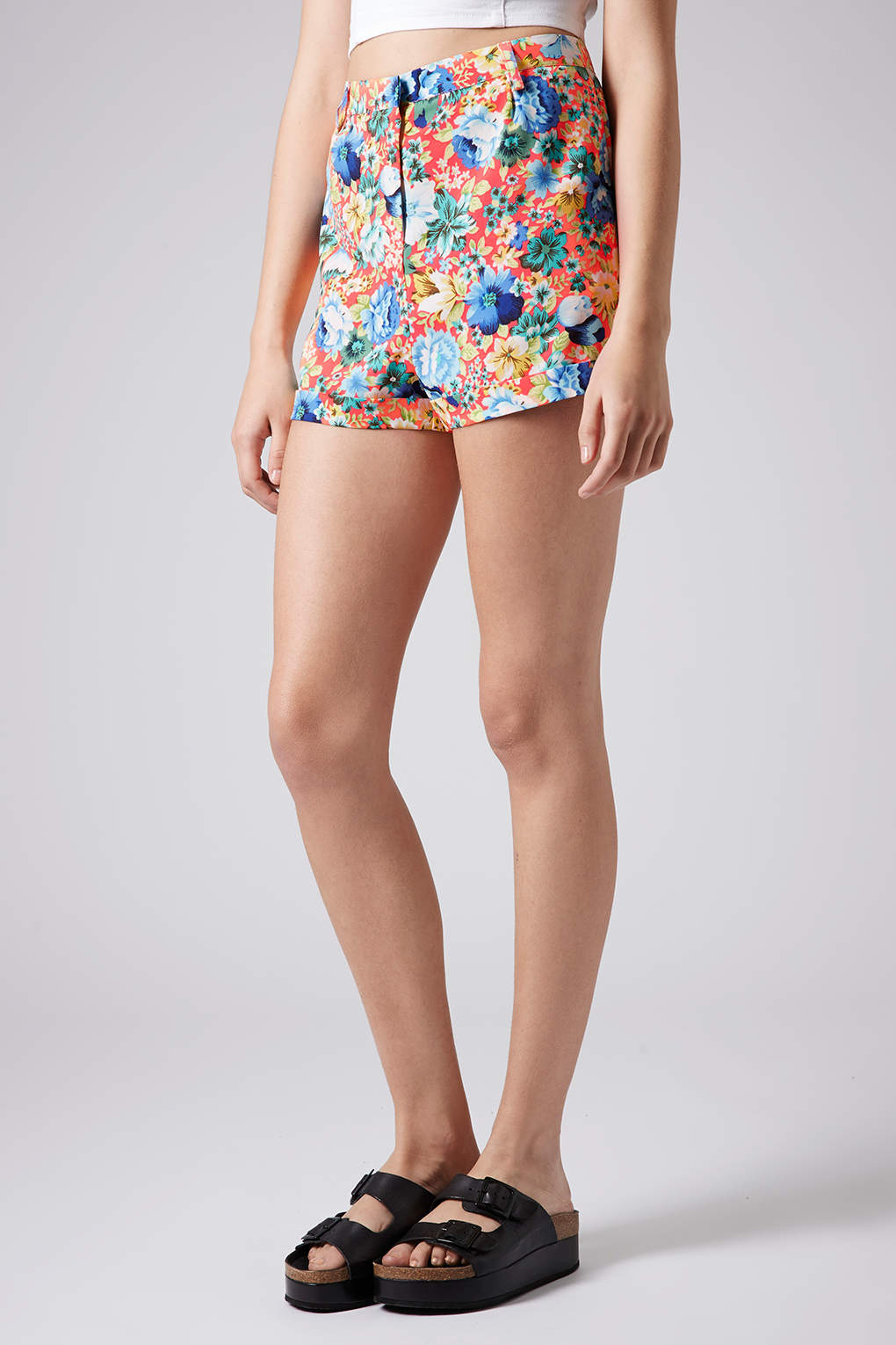 Topshop Womens Floral Print Shorts - Fast Delivery Cheap Price NNq6f9