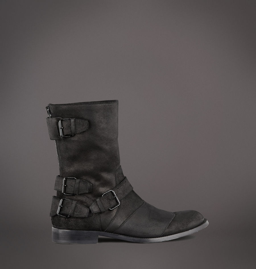 Embutido Declaración Río arriba  Belstaff Trialmaster Boot in Black for Men - Lyst